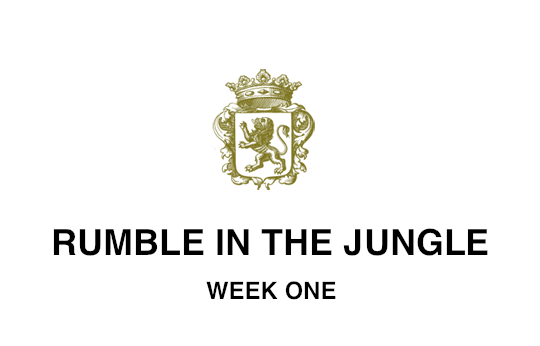 RUMBLE IN THE JUNGLE WEEK ONE