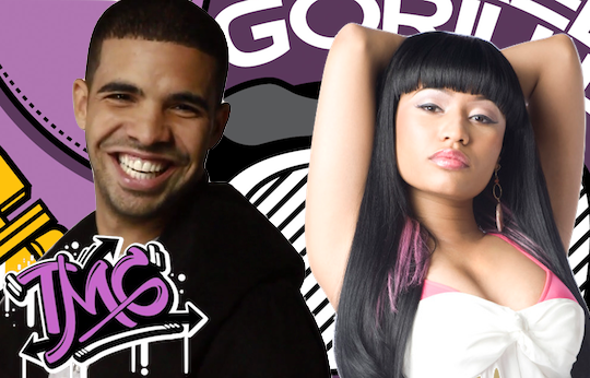 Drake Nicki Minaj The Masked Gorilla
