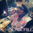 Wiz Khalifa with a huge doobie TMG