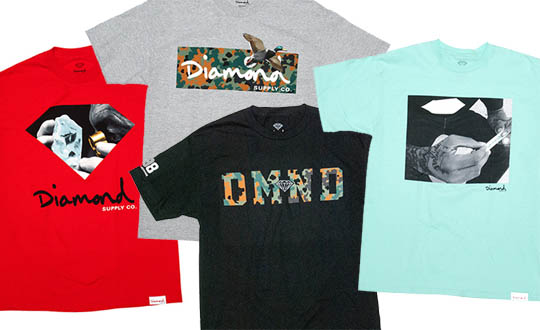 Diamond Supply Co. Fall 2012 T-Shirts. It ... b2619dbc8111