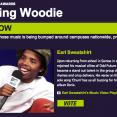 Earl Sweatshirt TheMaskedGorilla.com Woodie