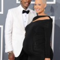 music-grammy-awards-red-carpet-wiz-khalifa-amber-rose