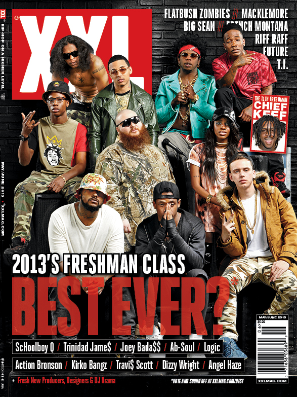 XXL Freshman Class 2013 Cover RevealedXxl Freshman 2012