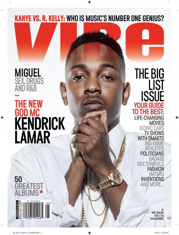 Vibe's Kendrick Lamar Cover