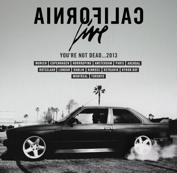 You're Not Dead...2013 Tour MaskedGorilla.com