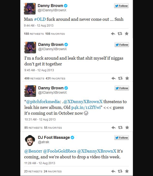 danny tweets