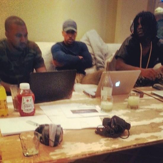 Kanye West & Chief Keef MaskedGorilla.com