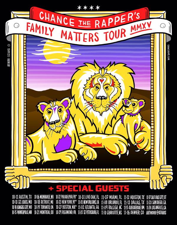 chance the rapper family matters
