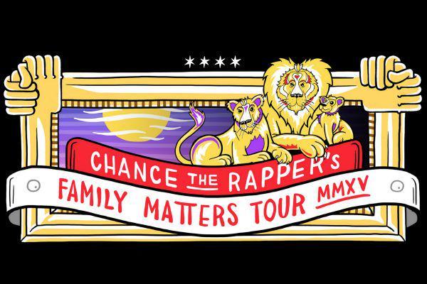 chance the rapper tour screen