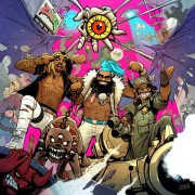Flatbush Zombies 3001- A LACED ODYSSEY ALBUM ARTWORK