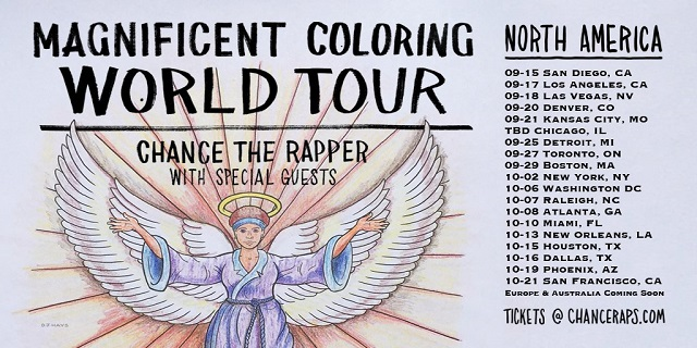 Chance The Rapper Tour Dates