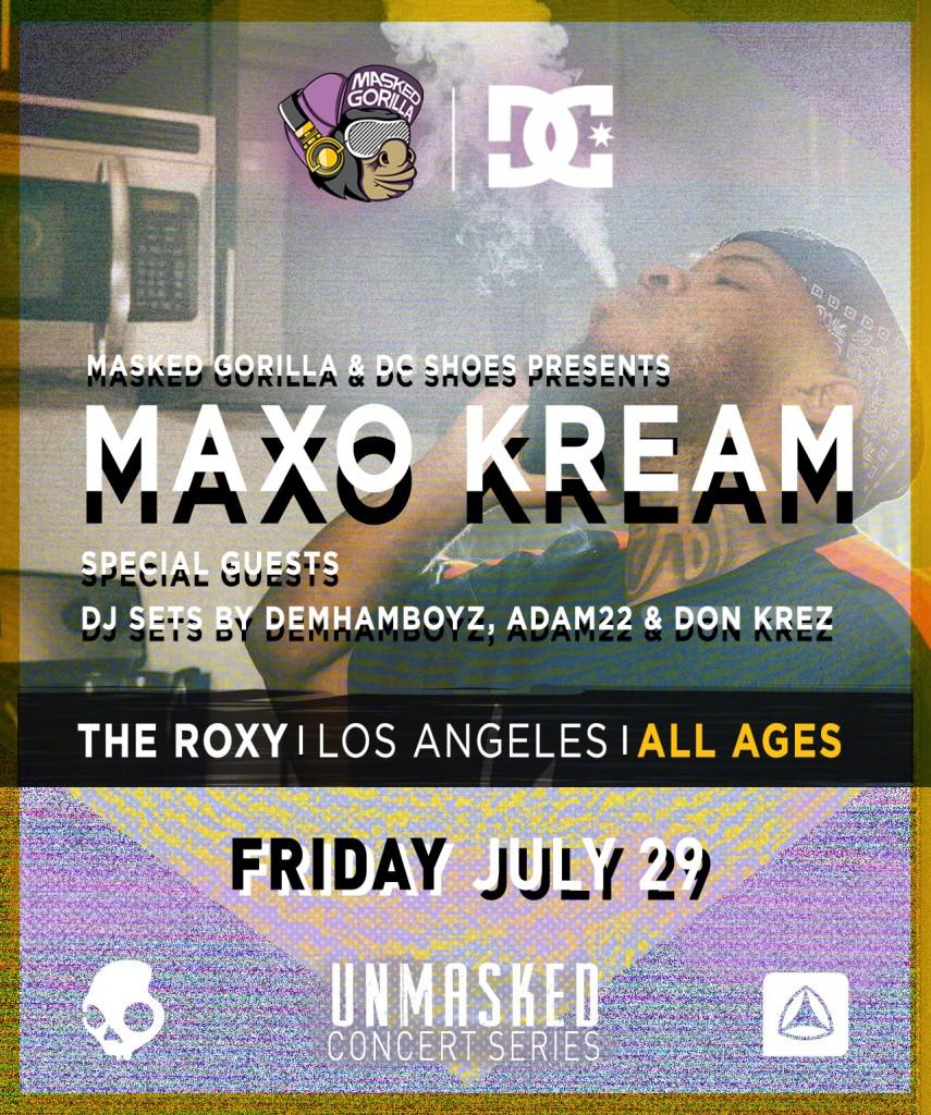 UNMASKED #2 (7-29) Maxo Kream Flyer
