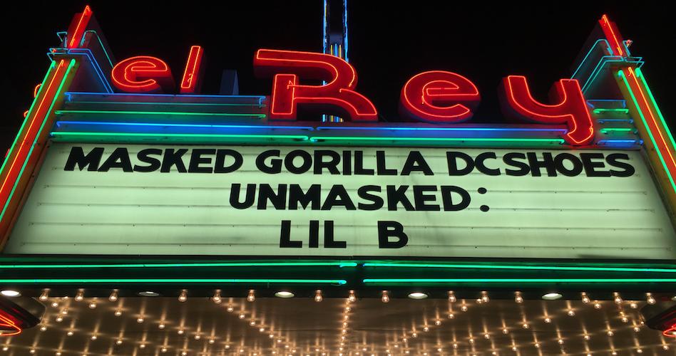 Lil B UNMASKED Scroll